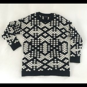 Sweaters - Women's Topshop sweater Checked sz 4